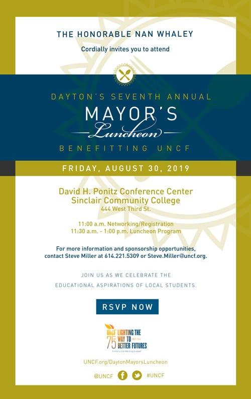 2019 Mayor's Luncheon – Dayton