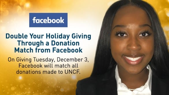 Banner image for Facebook Donation Match on Giving Tuesday