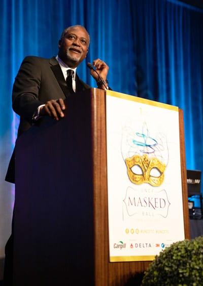 Michael Cox, UNCF's Area Development Director, Chicago Campaign.