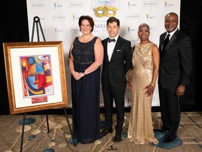 Sponsors U.S. Bank with Mayor Frey
