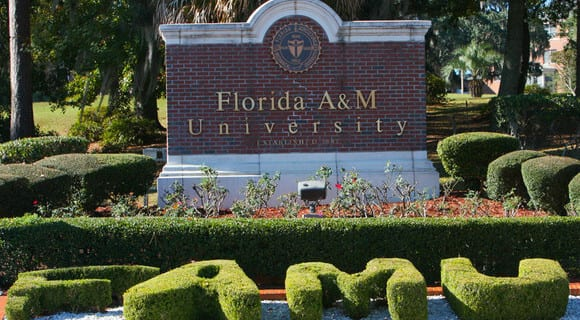 Florida A&M University sign