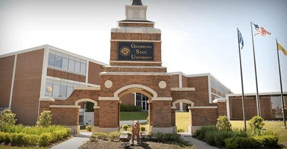 Grambling State University sign