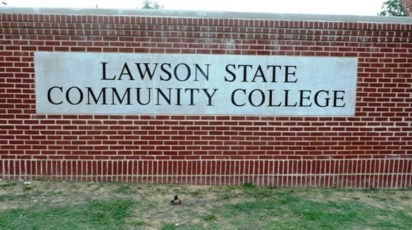 Lawson State Community College Birmingham sign