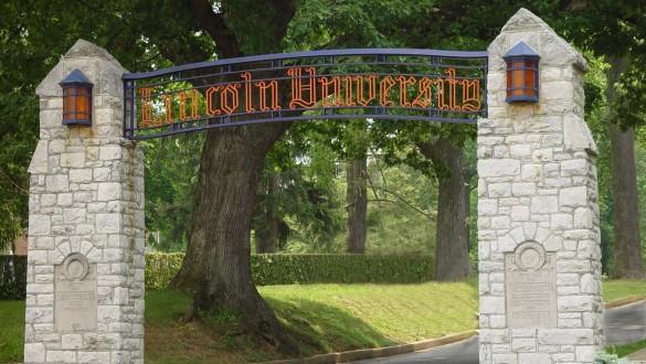 Lincoln University Pennsylvania sign