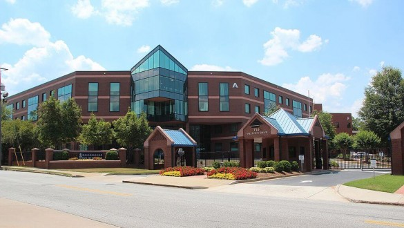 Building at the Morehouse School of Medicine