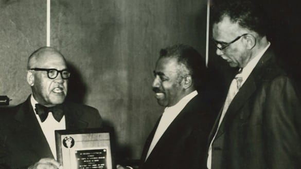 Frederick Douglass Patterson with two other men