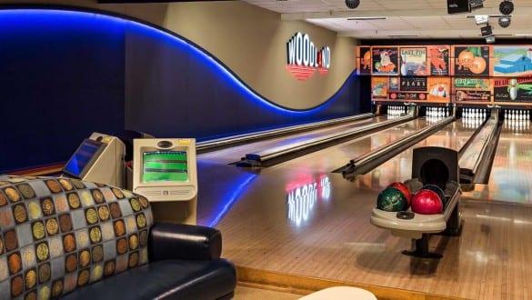 woodland bowling alley