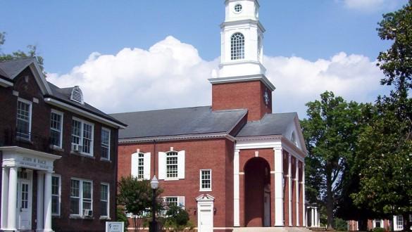Building at Bennett College