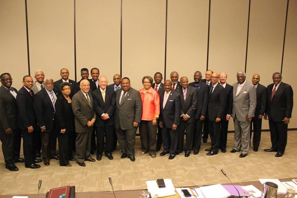 Group shot of UNCF presidents