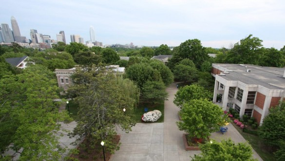 Campus shot of Johnson C. Smith University