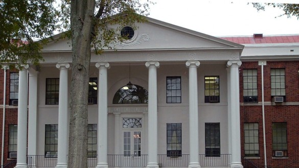 Building at Livingstone College