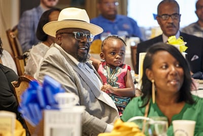 Cedric the Entertainer at the 2018 UNCF St. Louis Leaders' Breakfast