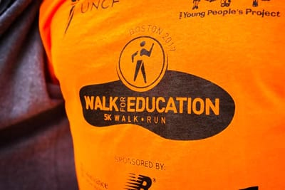 Scenes from the 2017 UNCF YPP Walk for Education