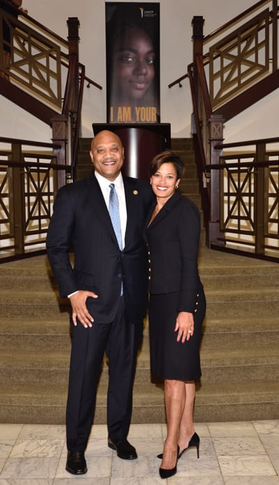 Indiana Congressman Andre Carson and UNCF's Andrea Neely