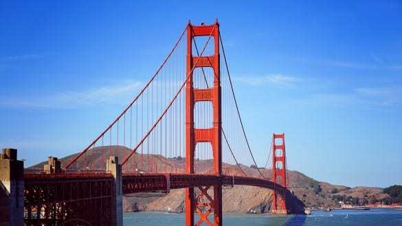 Skyline of city of San Francisco
