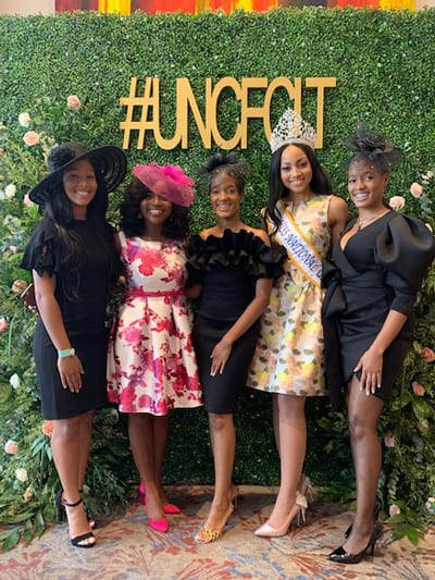 Miss UNCF and honored students