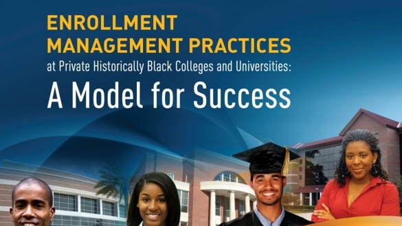 banner image of Enrollment Management Practices report