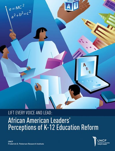 Cover image of Lift Every Voice and Lead report
