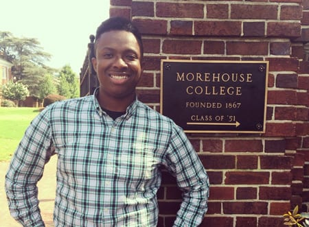 Ohio native, Morehouse College student; UNCF scholarship recipient