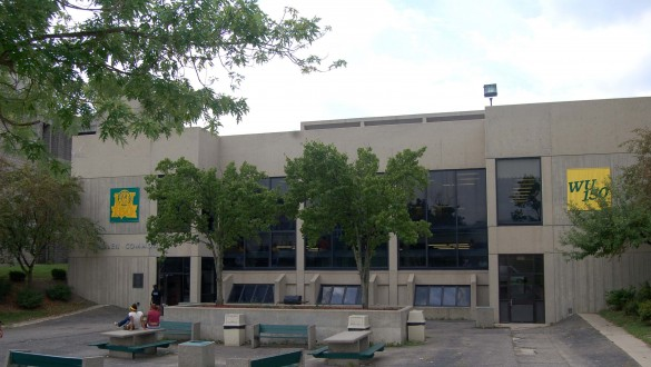 Building at Wilberforce University